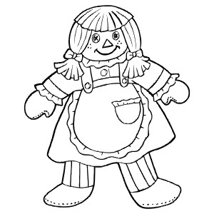 RAGDOLL - Colouring Page