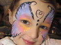 Face Painting Gallery - Butterfly Face Painting