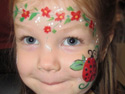 Face Painting Ideas - Face Painting Lady Bug