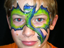 Face Painting for boys - Dragon