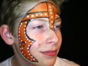Face Painting Gallery - Knight