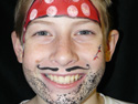 Face Painting Ideas - Pirate