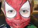 Face Painting Ideas - Spider Man