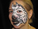 Face Painting Ideas - Zebra