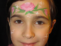 Face Painting Ideas - Rose