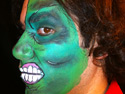Halloween Face Painting Ideas - Monster